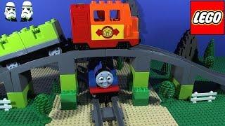 getlinkyoutube.com-LEGO DELUXE TRAIN SET 10508