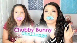 getlinkyoutube.com-CHUBBY BUNNY CHALLENGE!  Ft. Jasmin Glitz 