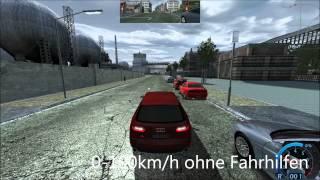 Audi A6 2.0 TFSI Multironic 0-100 Test WR2 WIP