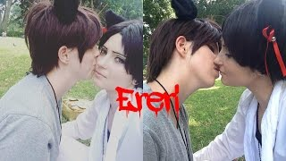 getlinkyoutube.com-Eren and Levi's date, Ereri Vlog (Attack on Titan, SNK)