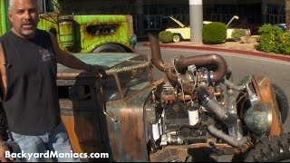getlinkyoutube.com-Vegas Rat Rods New Rat Rod at Sema 2015 - Steve Darnell Tells Us About and More