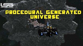 getlinkyoutube.com-Space Engineers - Procedural Generated Universe, No Boundaries