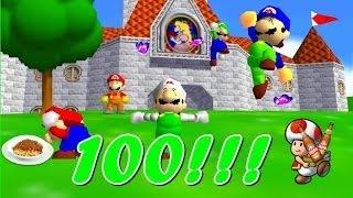 getlinkyoutube.com-Luigi da Web SM64 Bloopers BR 14# 100!!!