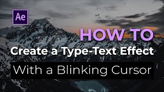 getlinkyoutube.com-AE Tut'z - How to Create a Type-Text Effect with a Blinking Cursor