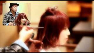 getlinkyoutube.com-【美容室動画】 Un ami小倉 太郎 The floating style which utilized existing permanent