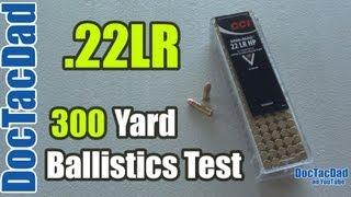getlinkyoutube.com-.22lr Lethality Revisited - 300 Yard Ballistics Test - Clear Ballistics