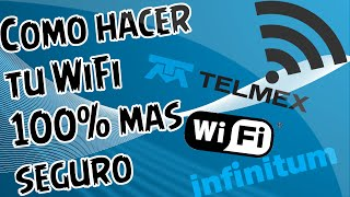 getlinkyoutube.com-Como hacer tu WiFi mas seguro | TELMEX | Tutoriales Mata_13