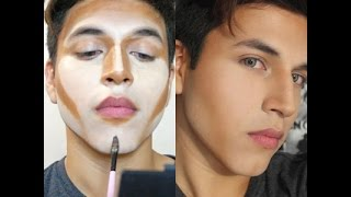 getlinkyoutube.com-Contouring Makeup For Men | Erick Hanson