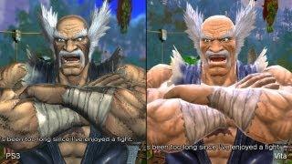 getlinkyoutube.com-Street Fighter X Tekken: PS Vita vs. PlayStation 3 Comparison