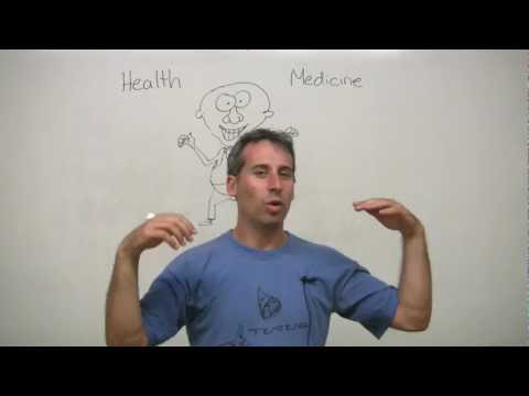 Talking about being sick - English health vocabulary