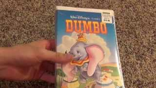 Walt Disney's Classic Dumbo VHS Unboxing   A Brand New VHS Tape In 2014!