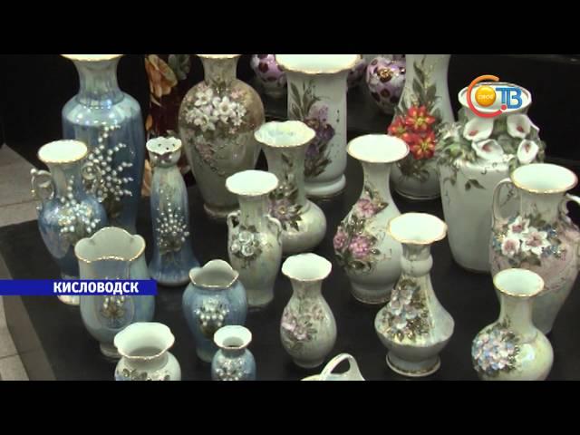 В Кисловодске открылась выставка народных художественных промыслов