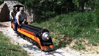 getlinkyoutube.com-Sunday's 'Steam Parade' At Illinois Live Steamers 45th Anniversary Meet