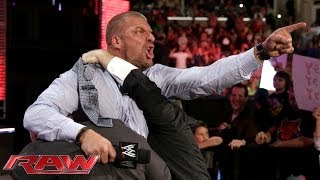 getlinkyoutube.com-Triple H agrees to face Daniel Bryan at WrestleMania 30: Raw, March 10, 2014