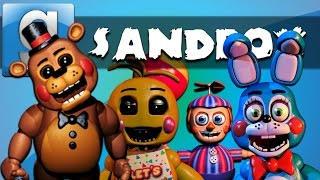 getlinkyoutube.com-Garry's Mod Sandbox Funny Moments Five Nights at Freddy's 3 Edition - Homer Simpson and More!