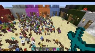 getlinkyoutube.com-Minecraft Clay Soldiers Big Battle Tournament - Round 1