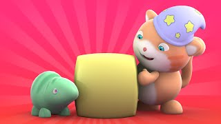 getlinkyoutube.com-Looi the Cat | 3D Animation for Kids | Chameleon | Animal Toy Cartoons | Puzzle