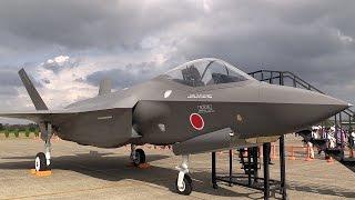 getlinkyoutube.com-日の丸が描かれたF-35は興奮MAX!!! F-35 ライトニング II Lightning 航空観閲式 百里基地