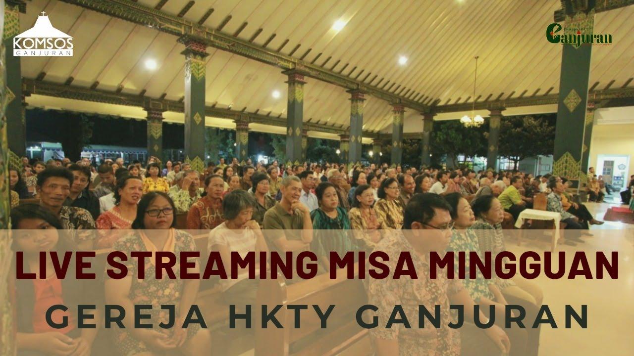 Gambar Misa Mingguan Gereja HKTY Ganjuran, Minggu 2 Agustus 2020