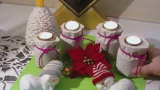 getlinkyoutube.com-Beton giessen - DIY - kleine Säckchen als Teelichthalter