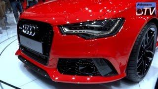 getlinkyoutube.com-2014 Audi RS6 Avant (560hp) - in Detail (1080p FULL HD)
