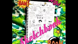 getlinkyoutube.com-Оформление личного дневника Sketchbook