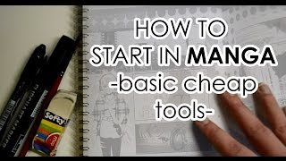 getlinkyoutube.com-How To Start in Manga with Basic Cheap Tools