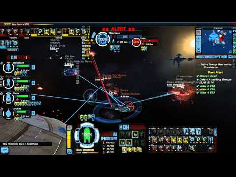 STO battle with Tolians