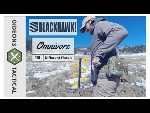 One Holster To Rule Them All: Blackhawk! Omnivore