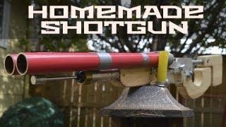 getlinkyoutube.com-Homemade Metro2033/ Light Light Duplet (Double Barreled Shotgun)