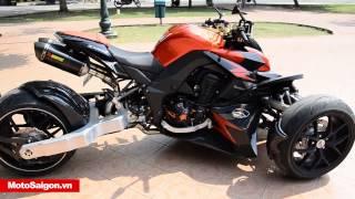 getlinkyoutube.com-Z1000 độ 3 bánh phiên bản v2.0 | Motosaigon.vn