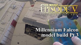 getlinkyoutube.com-DeAgostini Millennium Falcon Customized Build Pt. 3 Painting The Hull