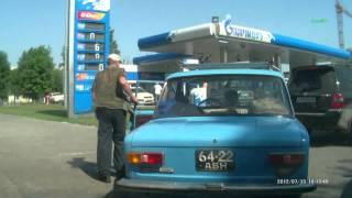 getlinkyoutube.com-Хам на заправке Газпромнефть в Барнауле