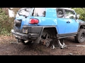 FJ Cruiser Build Pt 5 - Lift Kit Install & New Stereo