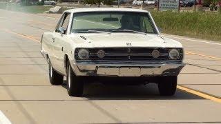 getlinkyoutube.com-Test Driving 1968 Dodge Dart GTS 340 V8 Mopar Muscle Car