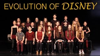 EVOLUTION OF DISNEY - Live Medley - Amazing Young Singers