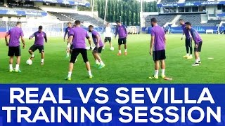 getlinkyoutube.com-Asensio and Isco MAD SKILLS | Benzema looks ready | REAL NEWS