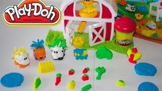 getlinkyoutube.com-PLAY-DOH AMIGUITOS DE LA GRANJA|Play-Doh Farm Barnyard Pals Animal Activities Mundo de Jugutes