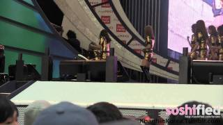 [20110417] Taeyeon Pulled Off Stage - Angel Price Music Festival