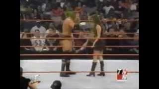 getlinkyoutube.com-Chris Benoit Retaliates To Stephanie Slapping Him