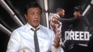"getlinkyoutube.com-Creed: Sylvester Stallone ""Rocky Balboa"" Official Movie Interview"