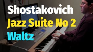 getlinkyoutube.com-Jazz Suite No. 2: Waltz by Shostakovich (Eyes Wide Shut Soundtrack) - Piano