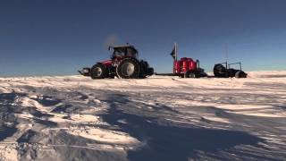 Massey Ferguson  Day 10 of Antarctica2: Daily update from Nicolas Bachelet