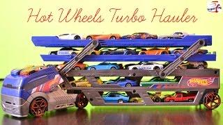 getlinkyoutube.com-Hot Wheels Turbo Hauler Vehicle