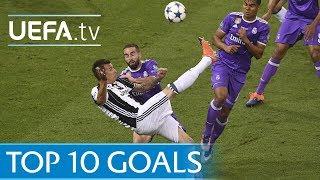 UEFA Champions League 2016/17   Top Ten Goals