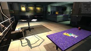 WIP Doom 3 level importer for Unity - Visportal Study