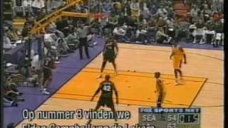 1998 nba action's top 10