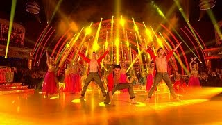 getlinkyoutube.com-Strictly Pros Bollywood Dance for Around the World Week - Strictly Come Dancing: 2014 - BBC One