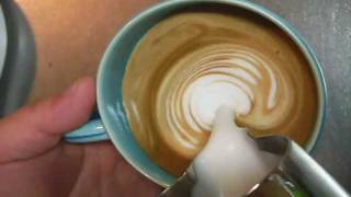 getlinkyoutube.com-How to froth milk for latte art without steam