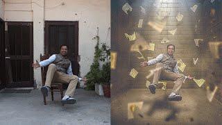 getlinkyoutube.com-Hold me Photoshop Manipulation | Levitation Photo Effects Tutorial